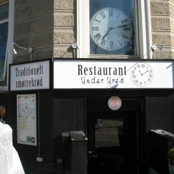 Smørrebrød restaurant... Unfortunately didn't have time to try it :(