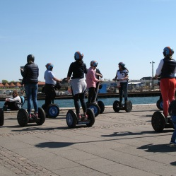 Lazy tourists... Or Segway tour, as you prefer!