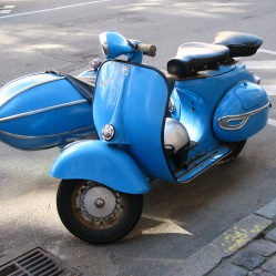 Sidecar on a Vespa?